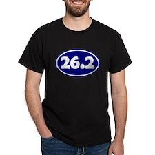 26.2 Oval - Navy Blue T-Shirt