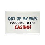 Casino Lovers Rectangle Magnet