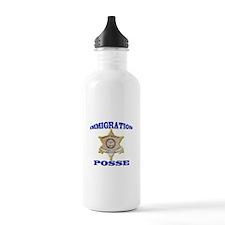Maricopa Sheriff Immigration Posse Water Bottle