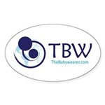 TBW-logo.png Sticker (Oval 10 pk)