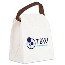 TBW-logo.png Canvas Lunch Bag