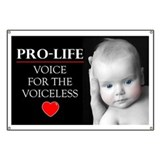 Pro-Life Voice for the Voiceless Banner