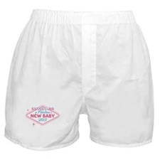 Las Vegas Expecting 2013 Boxer Shorts