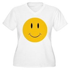Happy Orange Face T-Shirt