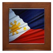 Filipino Pride Framed Tile
