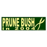 Prune Bush in 2004 Bumper Sticker