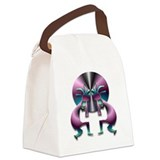 Two Kokopelli #43 Canvas Lunch Bag