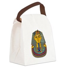 King Tut Mask #2 Canvas Lunch Bag