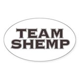 Team Shemp - Oval Decal