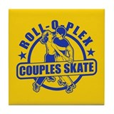 Couples Skate Tile Coaster