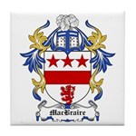 MacBraire Coat of Arms Tile Coaster