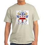 MacBraire Coat of Arms Ash Grey T-Shirt