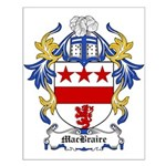 MacBraire Coat of Arms Small Poster