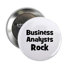"BUSINESS ANALYSTS Rock 2.25"" Button (10 pack)"
