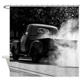 Smokin Truck Shower Curtain