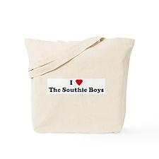 I Love The Southie Boys Tote Bag