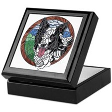 Skye's Keepsake Box, White