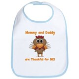 Thankful Turkey Bib