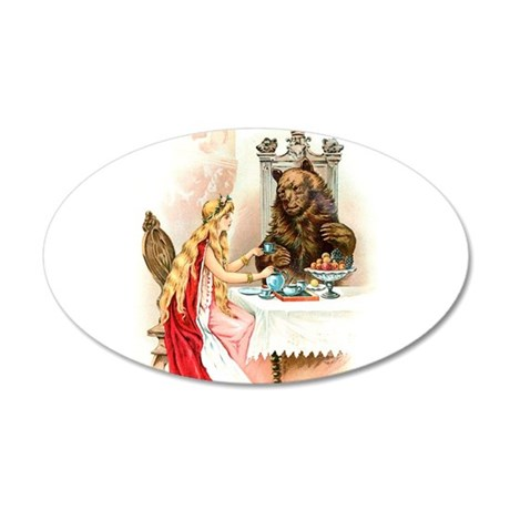 Fairy Tale Collection: Beauty the Beast 35x21 Oval