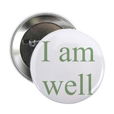 "I am well 2.25"" Button (10 pack)"