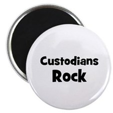 CUSTODIANS Rock Magnet