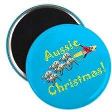 "Christmas in Australia 2.25"" Magnet (10 pack)"