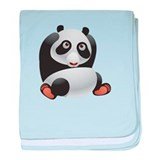 Cute and Cuddly Baby Panda baby blanket