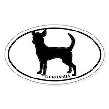 Chihuahua BW Decal