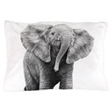 Baby African Elephant Pillow Case