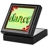 Dance vine with Flowers Keepsake Box