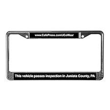 """Passes Inspection"" License Plate Frame"
