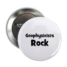 "GEOPHYSICISTS Rock 2.25"" Button (10 pack)"