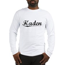 Haden, Vintage Long Sleeve T-Shirt