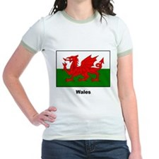 Wales Welsh Flag (Front) T