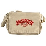 Jasper Leaf Messenger Bag