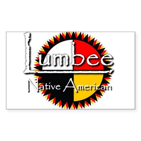 Lumbee Sticker (Rectangle)
