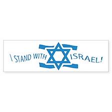 Stand with Israel Pocket Bumper Bumper Sticker