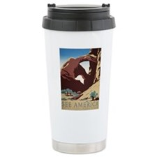 See America Desert Ceramic Travel Mug