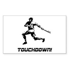 Baseball Touchdown Decal