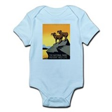 National Parks: Preserve Wild Life Infant Bodysuit