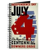 Vintage Fourth of July Journal