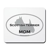 Scottish Terrier MOM Mousepad