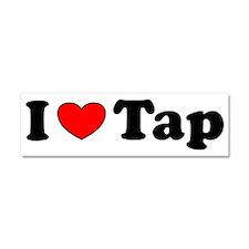 I Heart Tap Car Magnet 10 x 3