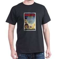 Vintage Frankenstein Horror Movie T-Shirt
