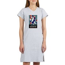 Vintage March is for Reading Women's Nightshirt