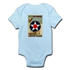 WWII Join the Air Service/Air Force Infant Bodysui