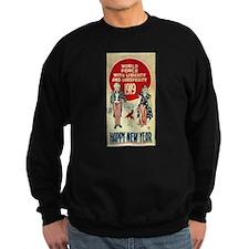 Vintage Happy New Year Sweatshirt