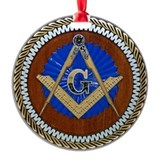 Freemasonry Round Ornament
