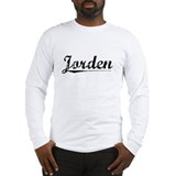 Jorden, Vintage Long Sleeve T-Shirt