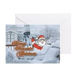 Merry Masonic Christmas Greeting Cards (Pk of 20)